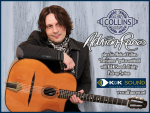 Collins Guitar Ad 12x8